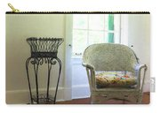 Wicker Chair And Planter Carry-all Pouch