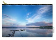 Wide Angled Sunset Over Moosehead Lake Carry-all Pouch