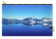 Wide Crater Lake Carry-all Pouch