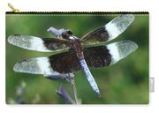 Widow Skimmer Dragonfly Carry-all Pouch