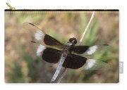 Widow Skimmer Dragonfly Male Carry-all Pouch