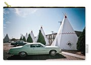 Wigwam Motel Classic Car #3 Carry-all Pouch