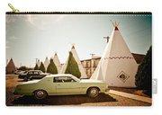 Wigwam Motel Classic Car #4 Carry-all Pouch