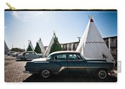 Wigwam Motel Classic Car #5 Carry-all Pouch