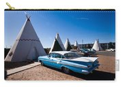 Wigwam Motel Classic Car #6 Carry-all Pouch