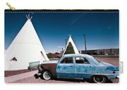 Wigwam Motel Classic Car #7 Carry-all Pouch