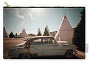 Wigwam Motel Classic Car #8 Carry-all Pouch