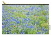 Wild About Wildflowers Of Texas. Carry-all Pouch