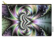Wild And Crazy Fractal Art Vertical Carry-all Pouch