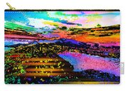Wild And Crazy Mountainous Sunset Carry-all Pouch