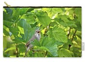 Wild Bird In A Currant Bush. Carry-all Pouch