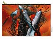 Wild Birds Carry-all Pouch by Carol Cavalaris