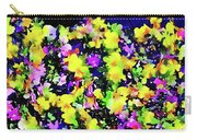 Wild Blossoms Carry-all Pouch