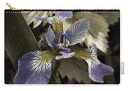 Wild Blue Iris Carry-all Pouch
