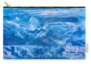 Wild Blue Carry-all Pouch by Joel Tesch