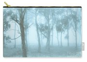 Wild Blue Woodland Carry-all Pouch