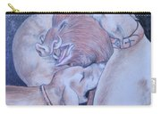Wild Boar And Dogs Carry-all Pouch