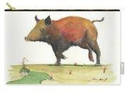 Wild Boar Delgadin Carry-all Pouch