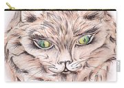 Wild- Brown Hair Cat Carry-all Pouch