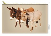 Wild Burro Buddies Carry-all Pouch