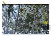 Wild Cherry Tree Blossoms On Verona Carry-all Pouch