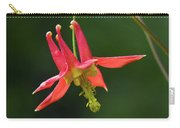 Wild Columbine Wildflower Carry-all Pouch