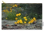 Wild Coreopsis On Hughes Mountain 1 Carry-all Pouch