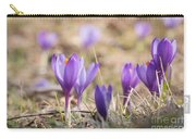 Wild Crocus Balkan Endemic Carry-all Pouch