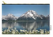 Wild Daisies In The Tetons Carry-all Pouch