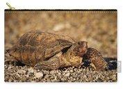 Wild Desert Tortoise Saguaro National Park Carry-all Pouch by Steve Gadomski