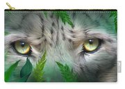 Wild Eyes - Snow Leopard Carry-all Pouch