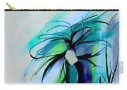 Wild Flower Abstract Carry-all Pouch