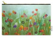 Wild Flowers Abstract Carry-all Pouch