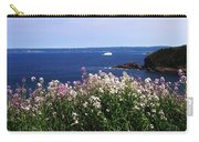 Wild Flowers And Iceberg Carry-all Pouch