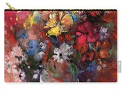 Wild Flowers Bouquet In A Terracota Vase Carry-all Pouch