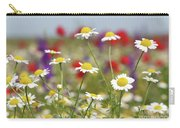 Wild Flowers Field Nature Spring Scene Carry-all Pouch