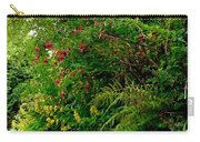 Wild Flowers On The Cliff Path Carry-all Pouch