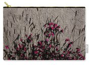 Wild Flowers On The Wall Carry-all Pouch