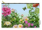 Wild Garden Carry-all Pouch by Ivana Westin
