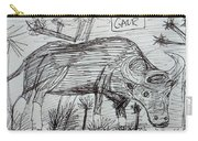 Wild Gaur Carry-all Pouch