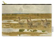 Wild Geese In The Marsh Carry-all Pouch