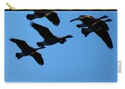 Wild Geese In The West Carry-all Pouch