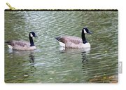 Wild Geese On A Lake 6 Carry-all Pouch