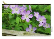 Wild Geraniums Carry-all Pouch