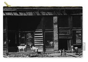 Wild Goats Ghost Town White Oaks New Mexico 1968 Carry-all Pouch
