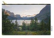 Wild Goose Island Sunset - Glacier National Park Montana Carry-all Pouch