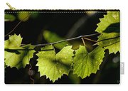 Wild Grape Leaves Carry-all Pouch