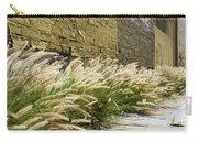 Wild Grass Along An Alley Wall Carry-all Pouch