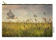 Wild Grass And A Lonely Cloud Carry-all Pouch