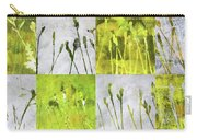 Wild Grass Collage 3 Carry-all Pouch
